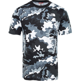 The North Face Redbox - T-shirt manches courtes Homme - gris/blanc